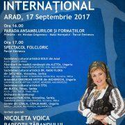 Festivalul Folcloric Internaţional în Parcul Eminescu