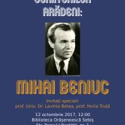 """""""Galeria Scriitorilor Arădeni"""", la Biblioteca Orășenească Sebiș"""