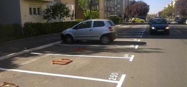 Primăria Arad demarează acțiunea de amenajare a parcărilor cu plată din cartierul Alfa