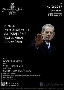 concert Regele Mihai
