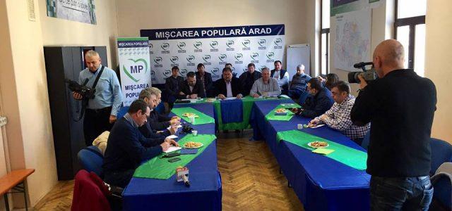 PMP Arad susţine cele 3.318 amendamente depuse de parlamentarii săi la proiectul Legii bugetului de stat