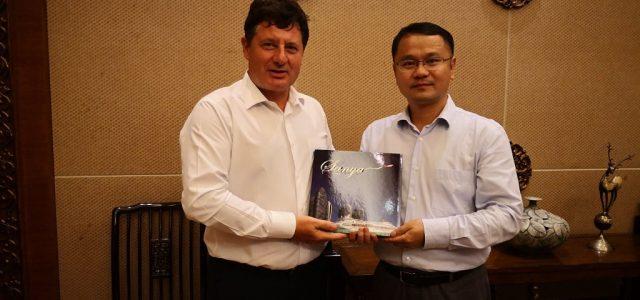 Președintele CJA, Iustin Cionca, în vizită de căutare investitori chinezi