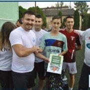 TLDE Arad au organizat un turneu de fotbal în scop caritabil