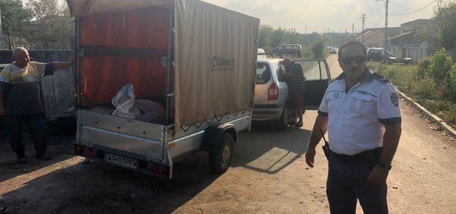 Poliția Locală Arad verifică modul respectării curățeniei orașului