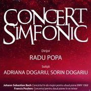 Concert simfonic de excepție pe scena Palatului Cultural