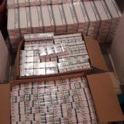 Peste 51.000 de tigarete confiscate de la un bărbat bănuit de contrabandă