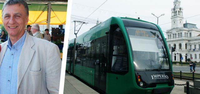 Marin Lupaș: Este nevoie de 5 tramvaie noi pe an, pentru toți arădenii!