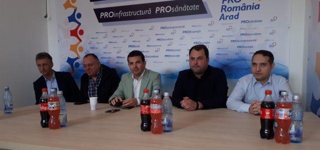 Daniel Constantin lansează Pro România la Arad