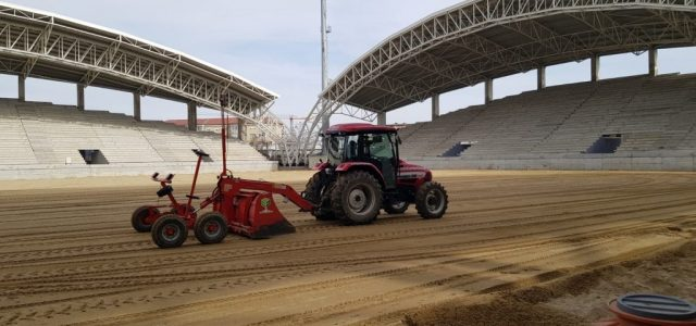"""Se reiau lucrările la stadionul """"Francisc Neumann"""""""