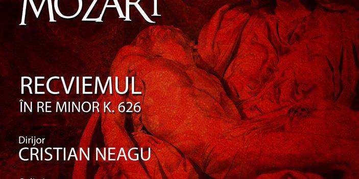 Recviemul in Re Minor K626 al lui Mozart, pe scena Filarmonicii Arad