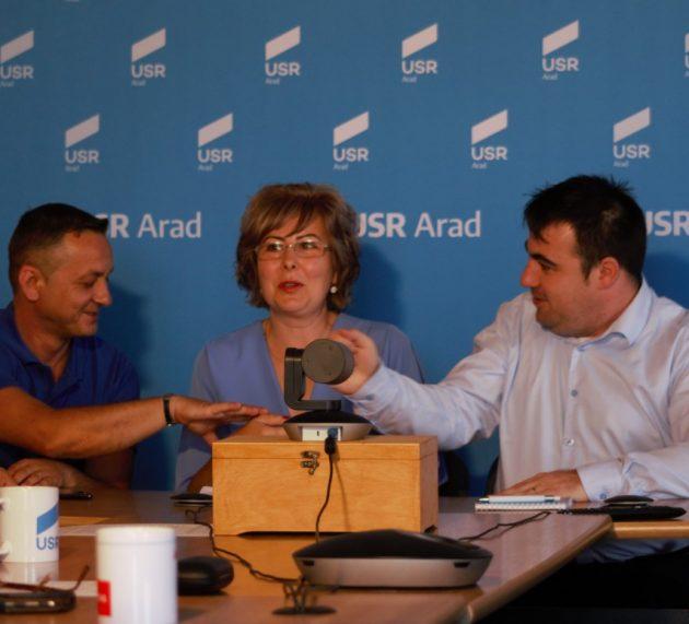 USR lansează candidatul pentru Primăria Pecica