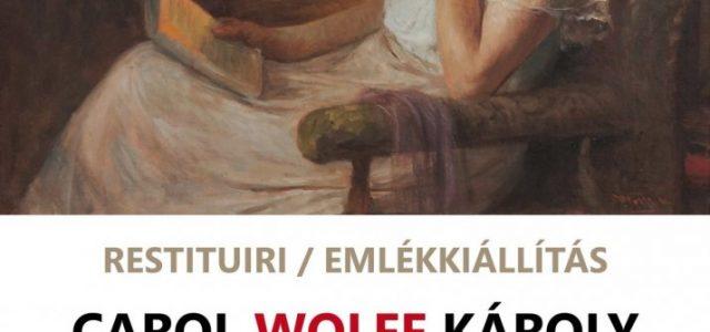 """Expoziția de pictură """"Restituiri. Carol Wolff"""", la Complexul Muzeal Arad"""