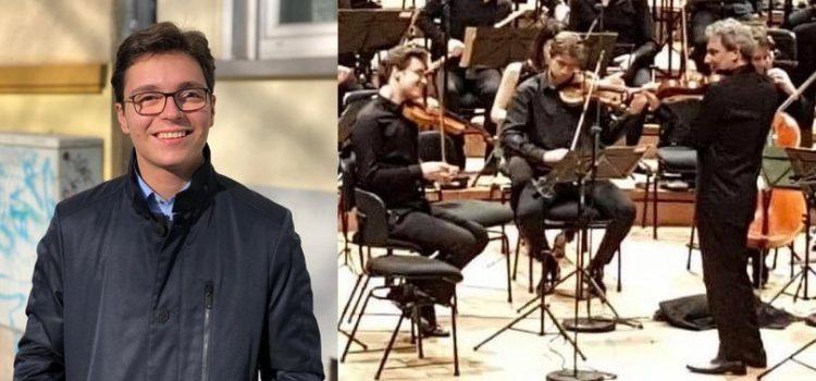Un arădean de 18 ani, pe scena Festivalului Internațional George Enescu