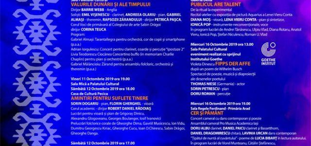 Programul Festivalului Internațional Iubiți Muzica Românească