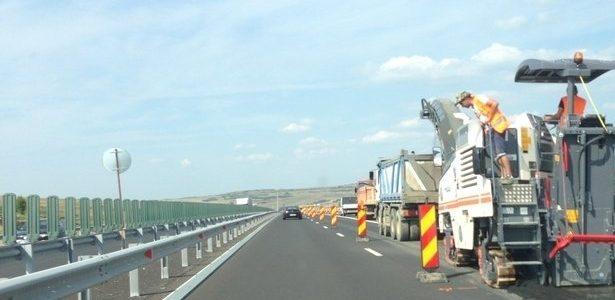 Trafic restricționat pe autostrada Arad-Nădlac. Se circulă pe o singură bandă