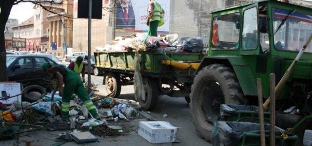 Începe curăţenia de toamnă! Vezi programul pe cartiere