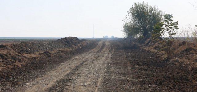 Au început lucrările la drumul Sânpetru German-limită județ Timiș