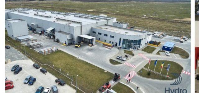 Hydro vinde fabrica românească de extrudare către Hammerer Aluminium Industries