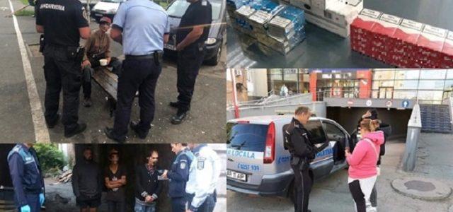 Razie a polițiștilor și jandarmilor în municipiu. Amenzi de peste 11.000 de lei