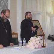 Părintele Constantin Necula a conferenţiat la Lipova