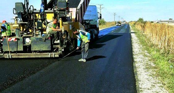 CJA: Drumul Pâncota-Seleuș este aproape finalizat