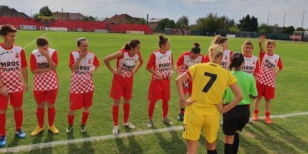 Piroş Security, învinsă în derby-ul vestic al fotbalului feminin