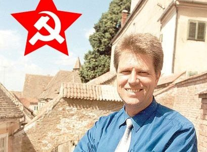 Fățarnicul Iohannis, anticomunistul de tinichea