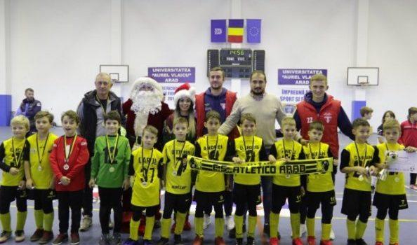 Echipele arădene, pe podium la Cupa de Crăciun Atletico