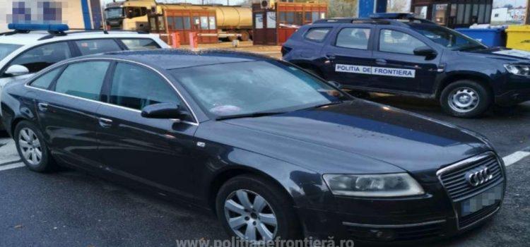 Audi căutat de autorităţile din Franţa, depistat în vama Nădlac