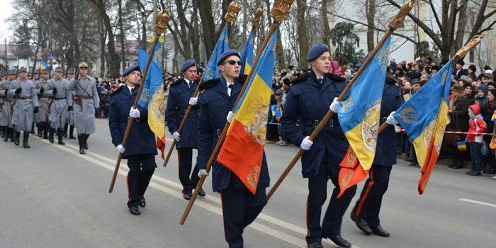 Ceremonii organizate în Arad, de Ziua Națională a României