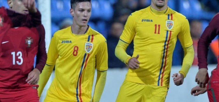 Man şi Adrian Petre, printre cei 23 de tricolori la U21