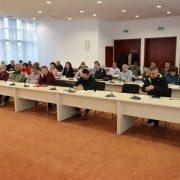 Ședință de lucru privind modificările legislative legate de avize și acorduri, la CJA