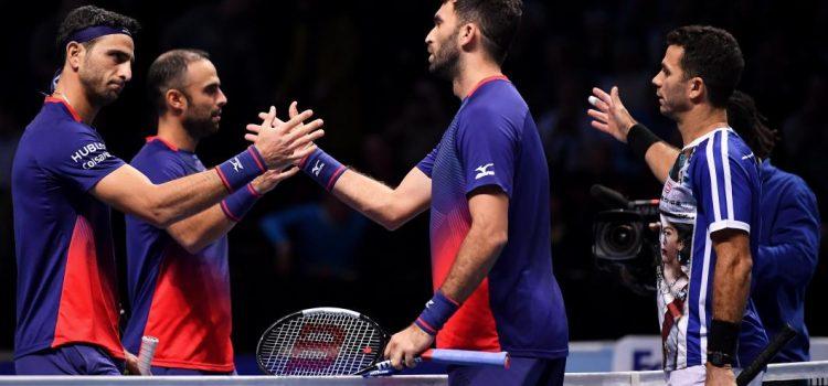 Perechea Tecău/Roger a învins cel mai bun dublu din lume la Turneul Campionilor