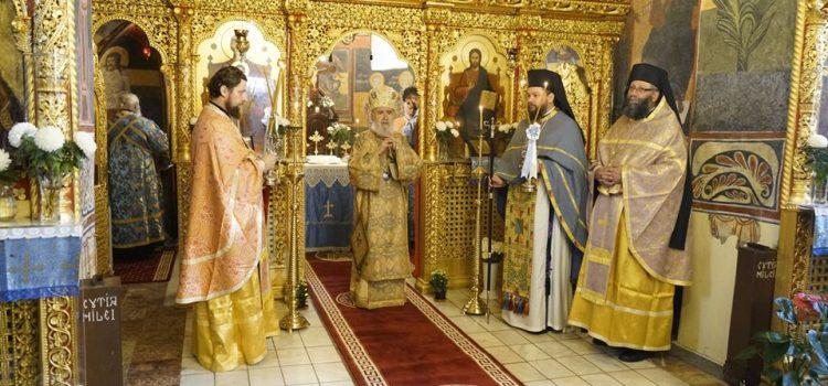 Arhiepiscopul Aradului a fost prezet la hramul bisericii istorice a Mănăstirii Hodoş-Bodrog
