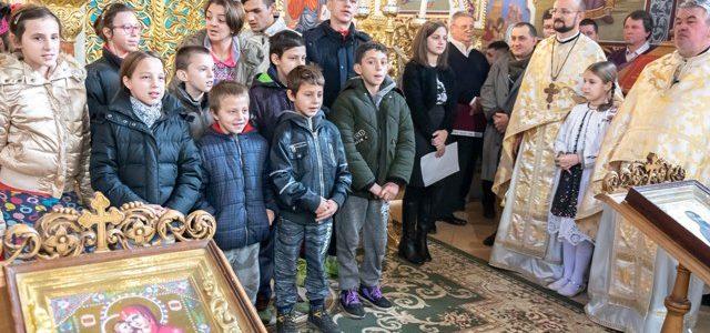 Acțiune caritabilă pentru copiii speciali în Parohia Ortodoxă Aradul Nou
