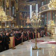 Praznicul Naşterii Domnului a fost sărbătorit la Catedrala Arhiepiscopală