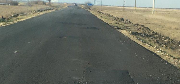 Dezastru pe drumul Nădab-Seleuș, reabilitat acum o lună