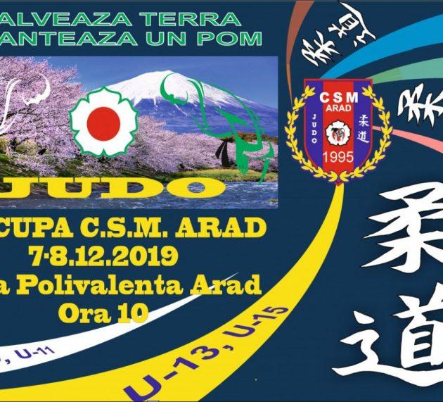 Peste 500 de judoka sunt aşteptaţi la Cupa CSM Arad