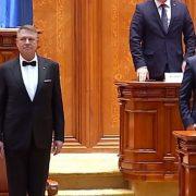 Klaus Iohannis a depus jurământul pentru al doilea mandat la Cotroceni