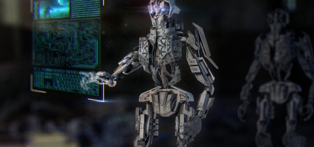 Fanii Terminator innebuniti. Arnold Schwarzenegger clonat intr-un robot care vorbeste si interactioneaza cu tine!