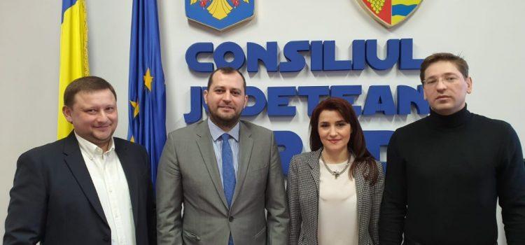 O delegație din Moldova a fost în vizită la Consiliul Județean Arad