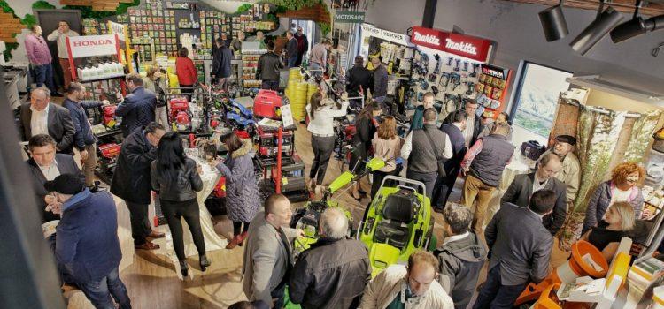 AGRONOMO a deschis azi cel mai modern showroom de motoutilaje din vestul țării, la Arad