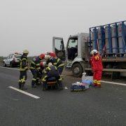 Accident cu o victimă pe autostrada A1