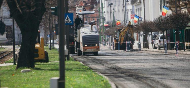 Primăria Arad începe acțiunea de curățenie stradală!