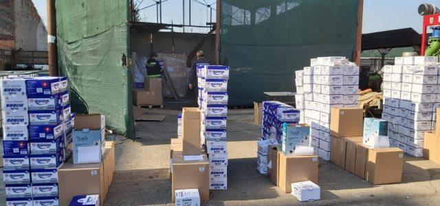 Cadrele medicale arădene și personalul structurilor MAI și MAPN au primit noi echipamente medicale