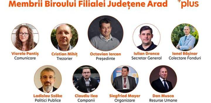 Filiala județeană PLUS are o nouă componență