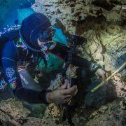 Un foc de acum 10 mii de ani a fost descoperit în piscinele natuale ale  Mexicului