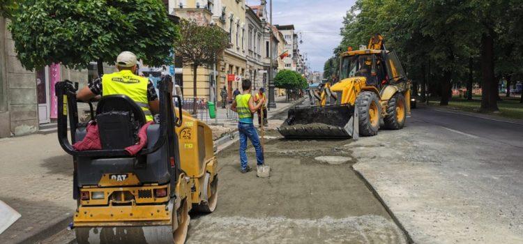 """Sergiu Bîlcea: ,,Lucrările la rețeaua de canalizare de pe centru se finalizează"""""""