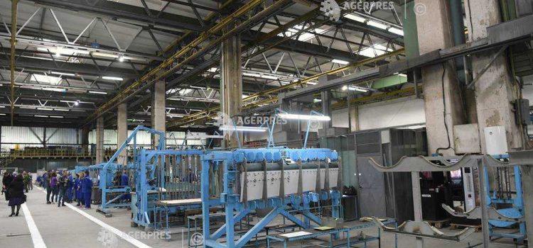 INS: Producţia industrială a scăzut în România cu aproape 6%, în primele trei luni ale anului