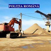 Percheziții în balastierele din județul Arad